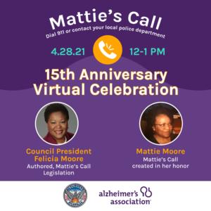 Mattie's Call/Silver Alert